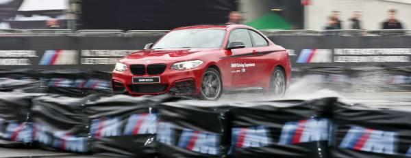 BMW M drifta all'Eicma