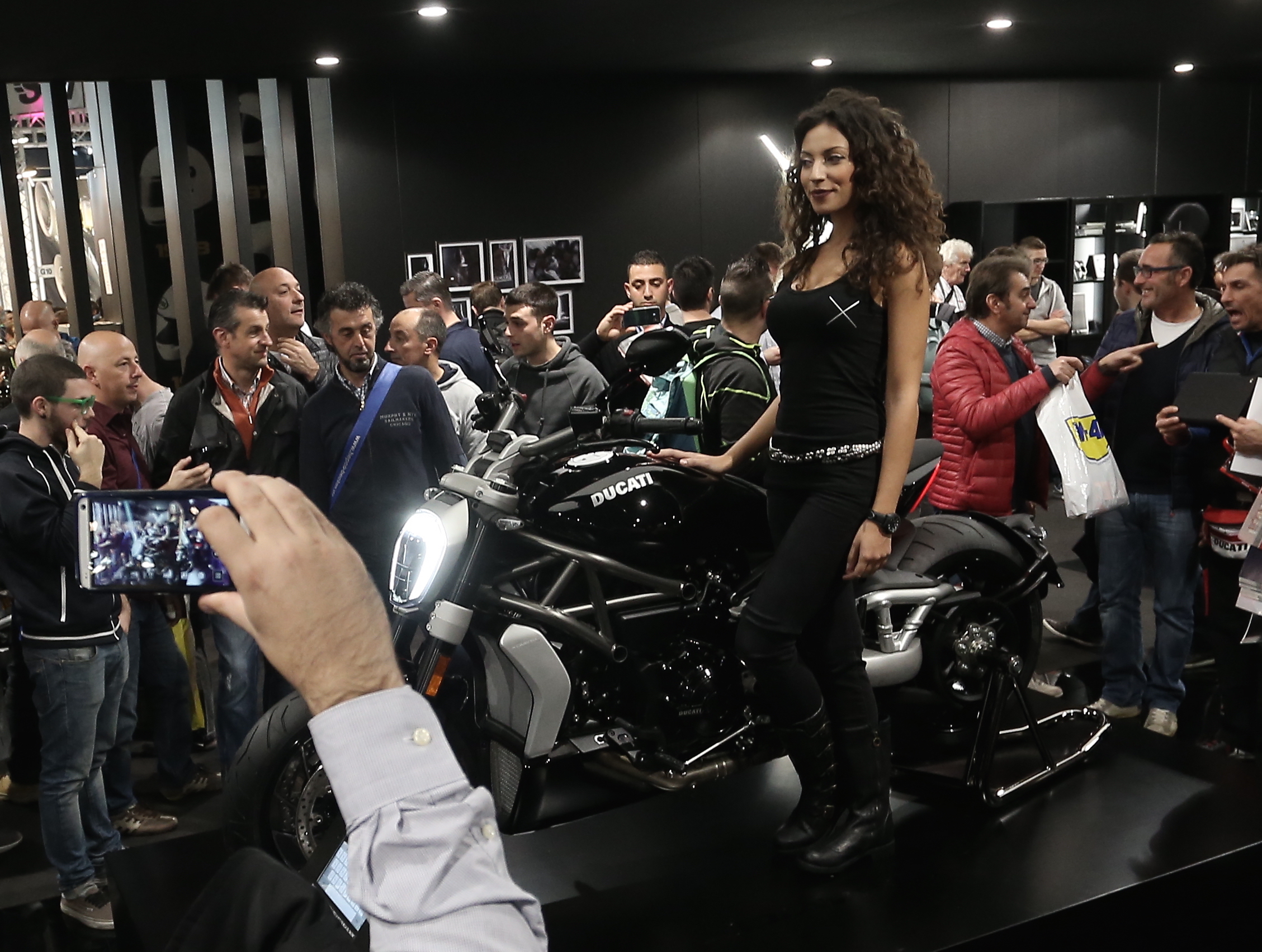 """Eicma: Ducati XDiavel """"moto più bella"""""""