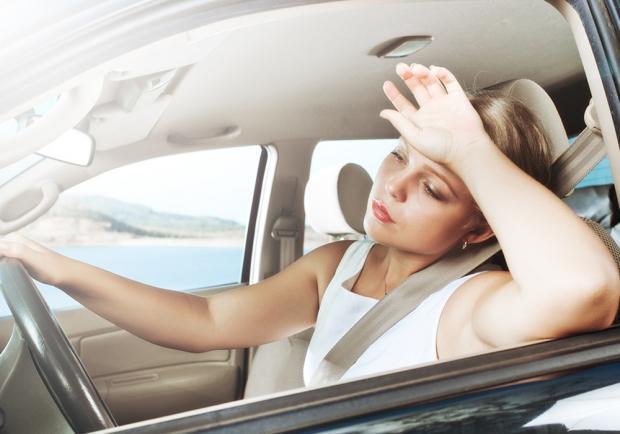 Una ricerca sui colpi di sonno alla guida