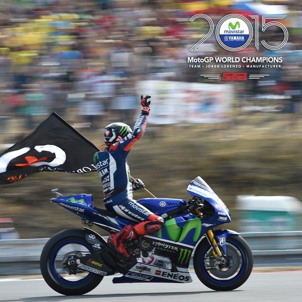 MotoGP: Lorenzo Campione 2015. Rossi grande 4°