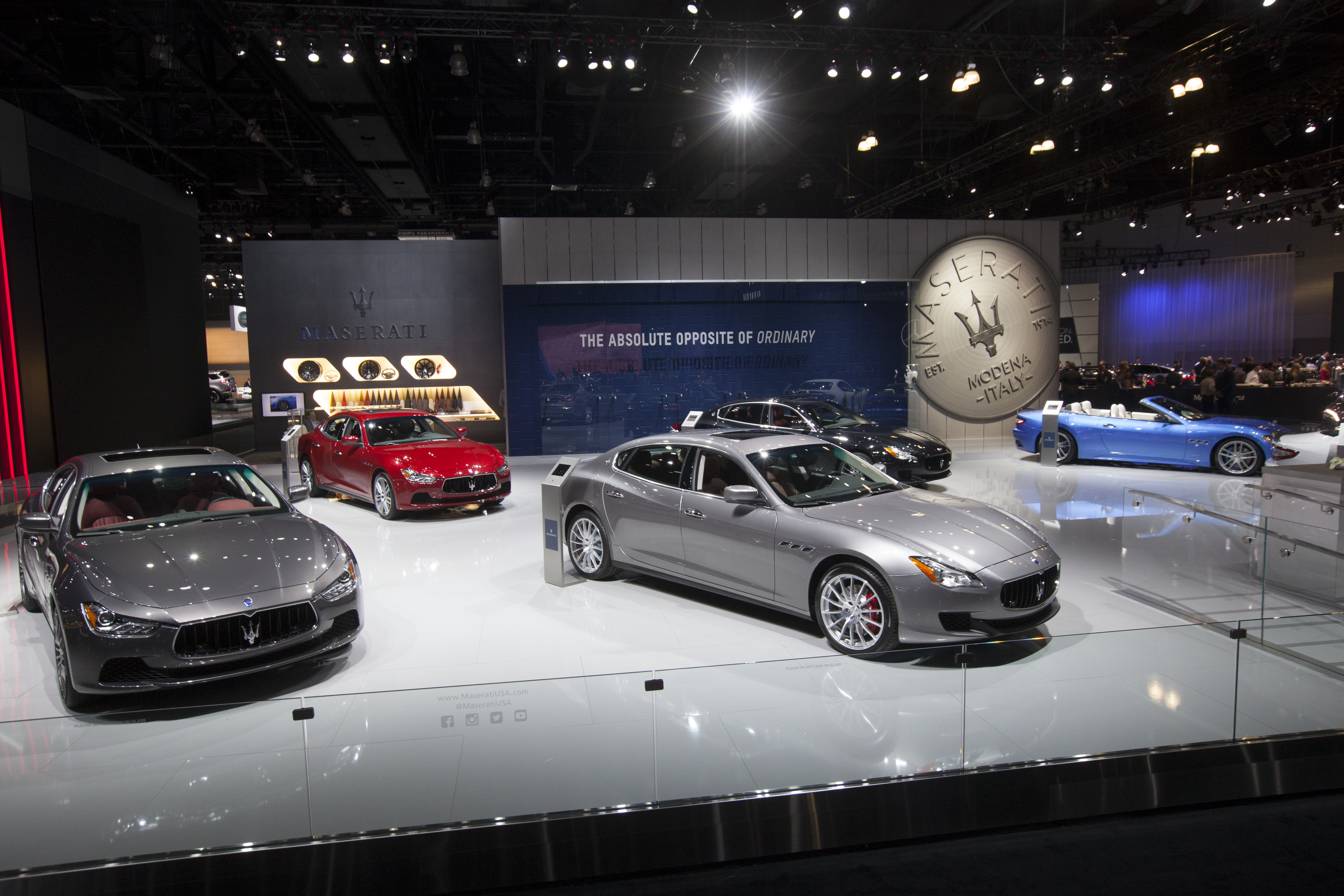 Maserati protagonista a Los Angeles