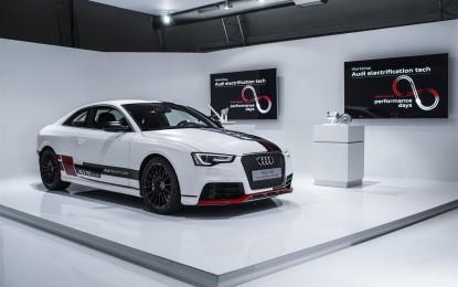 Audi e il futuro dell'elettrificazione