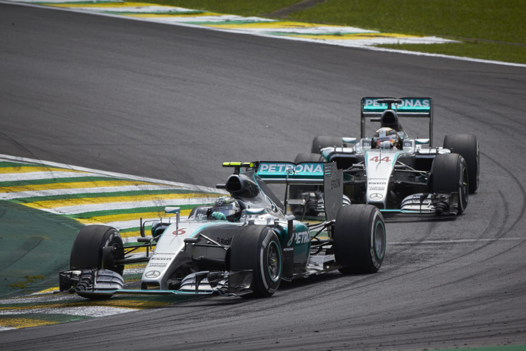 Hamilton 'doesn't have to win' after 2015 title