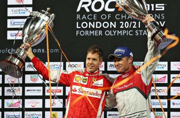 Race Of Champions: Vettel batte Kristensen