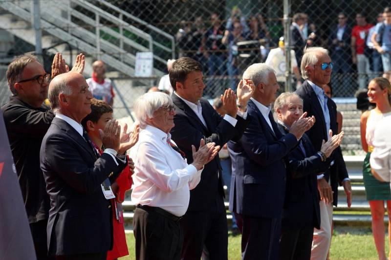 Ecclestone fiducioso sul futuro della F1 a Monza