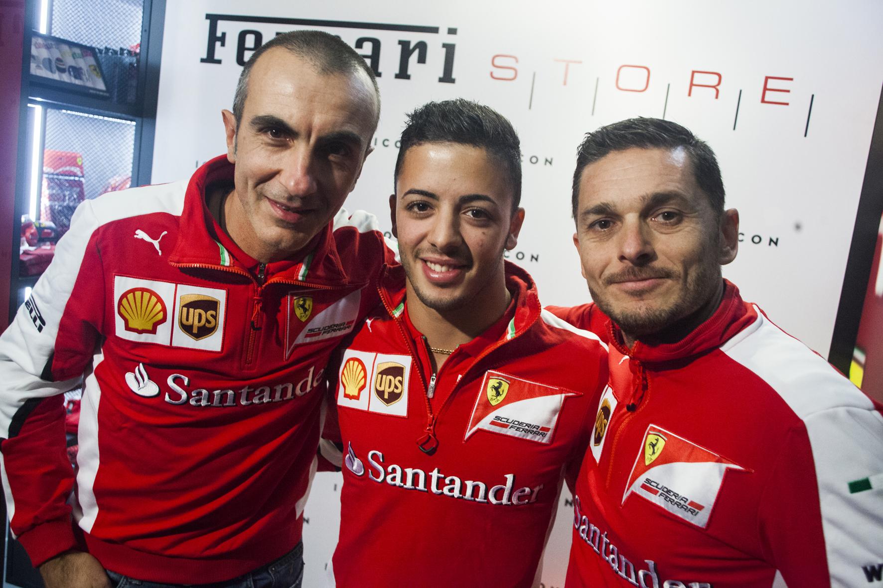 Stile, corse e musica al Ferrari Store Milano