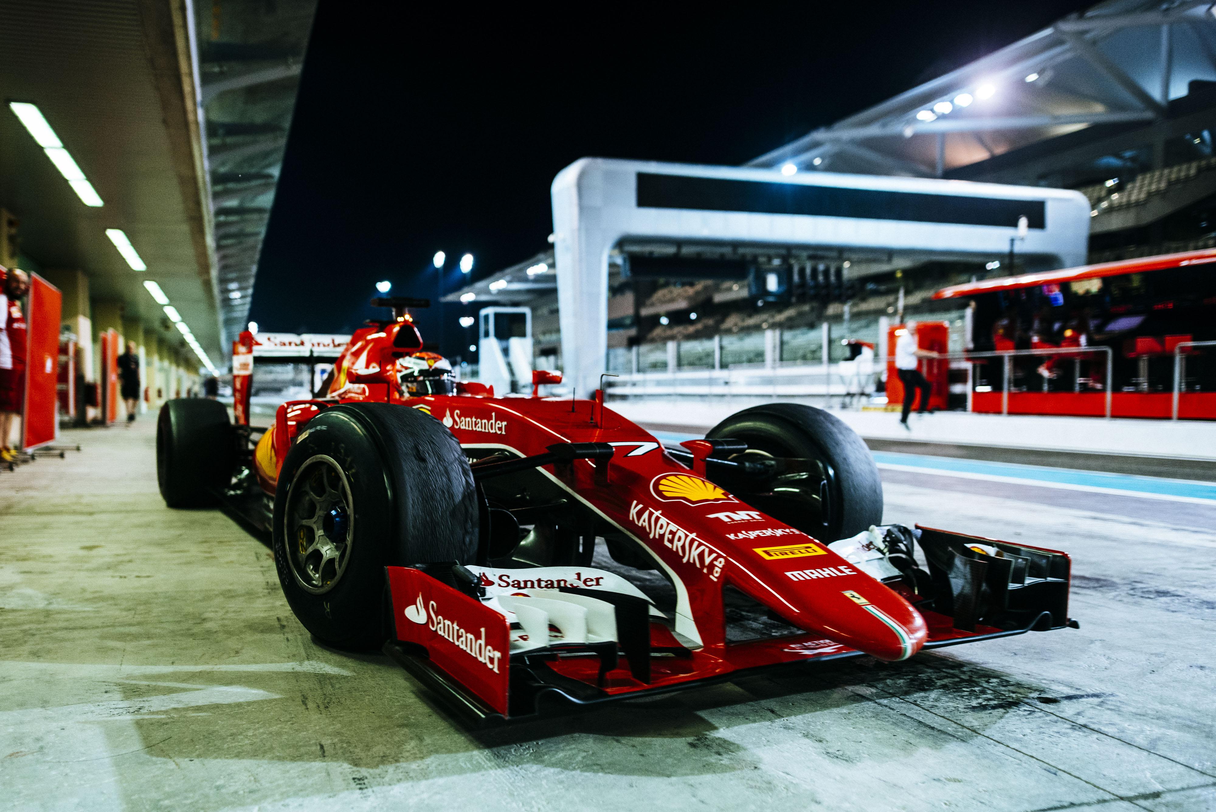 Abu Dhabi: il test chiude la carriera della SF15-T