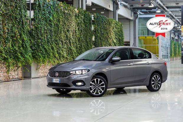 """Nuova Fiat Tipo vince """"Autobest 2016"""""""