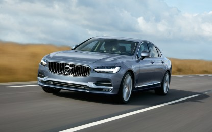 S90: Volvo nel club delle berline di lusso