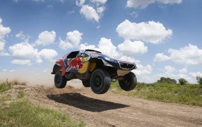 Dakar 2016: Team Peugeot Total pronto!