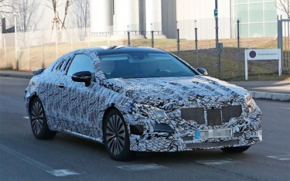 Spy: Mercedes-Benz Classe E Coupé 2018