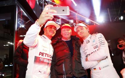 """Niki Lauda su Rosberg e Hamilton: """"Tutto falso"""""""