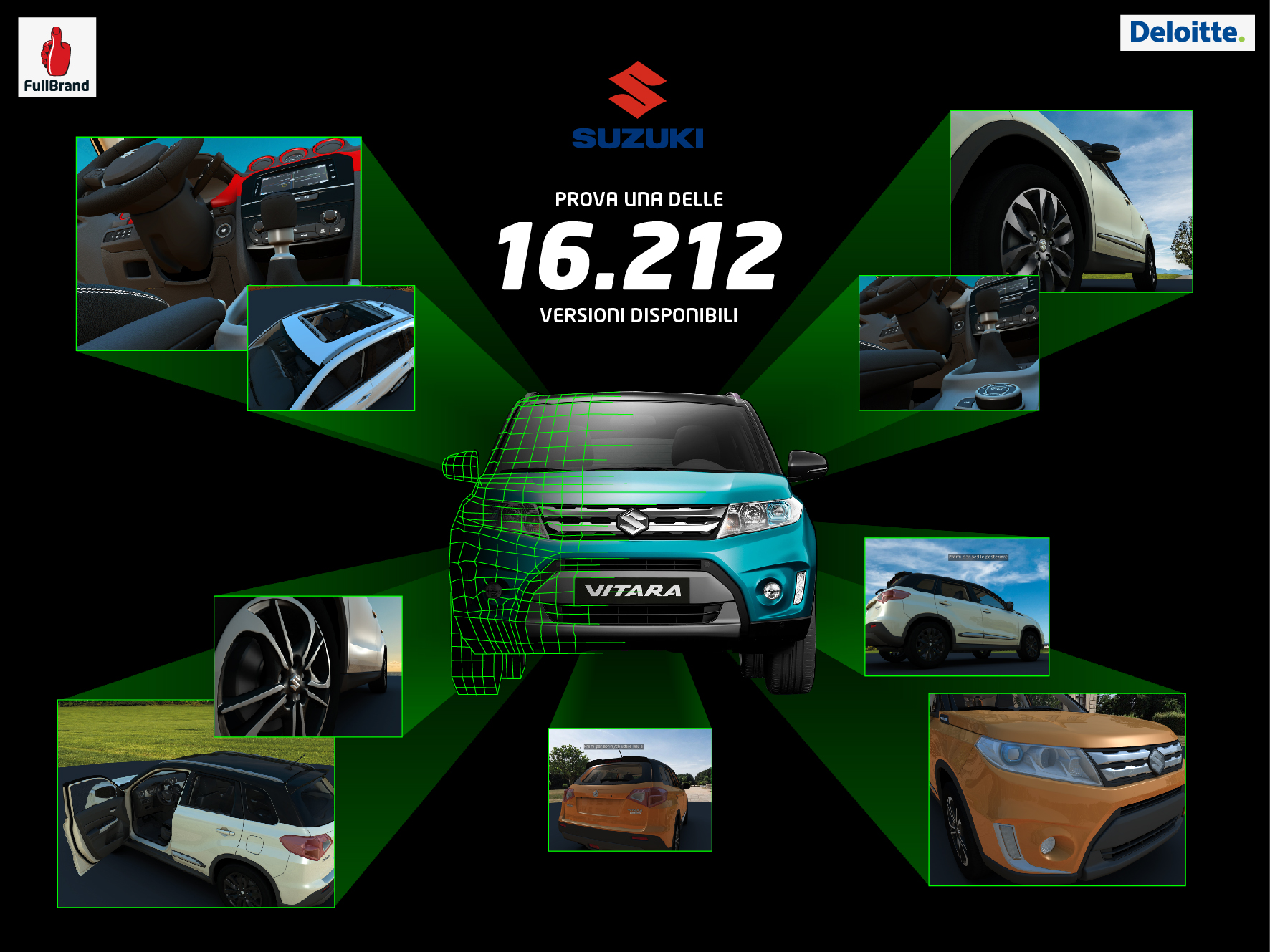 VirtualSuzuki: il virtuale nel mondo automotive