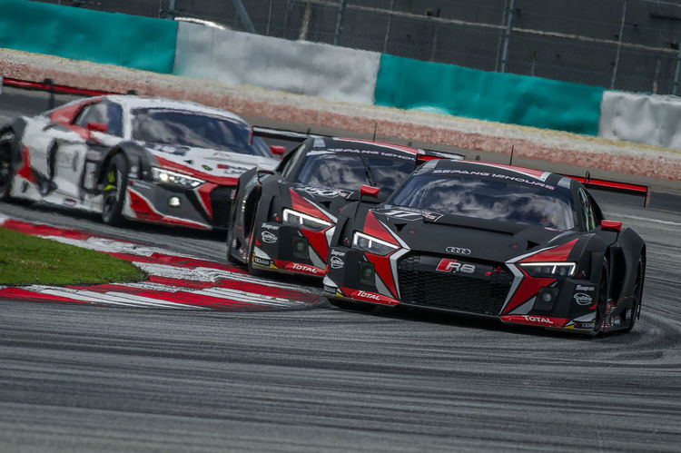 One-two-three for new Audi R8 LMS at Sepang