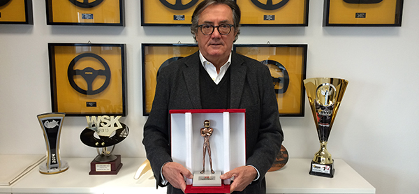 Casco d'Oro per Gian Carlo Minardi