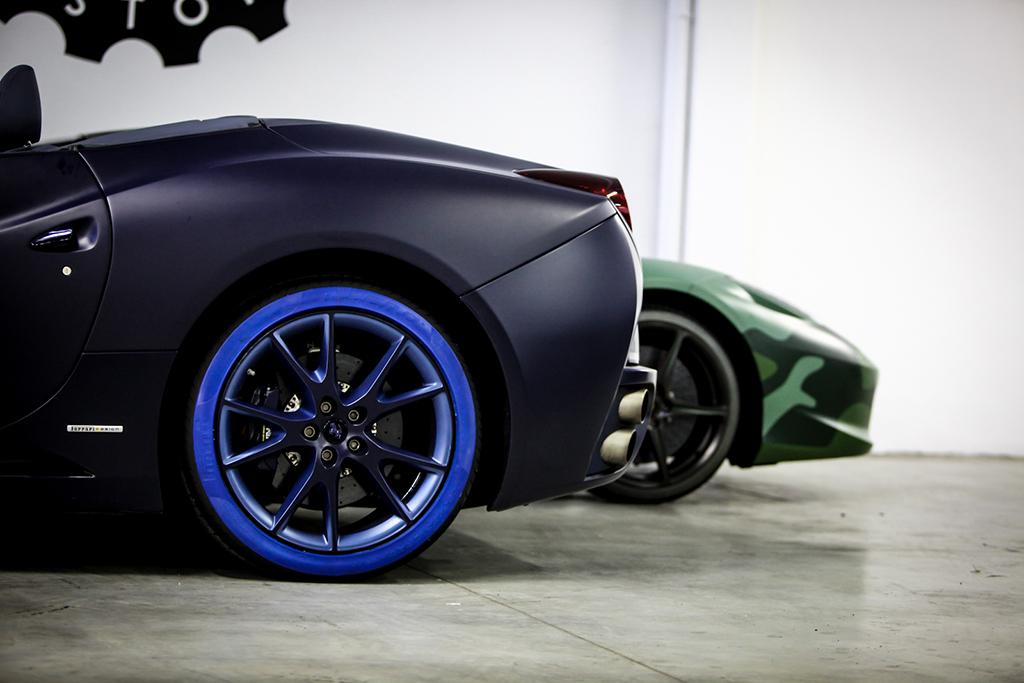 Garage Italia Customs e Pirelli: pneumatici speciali