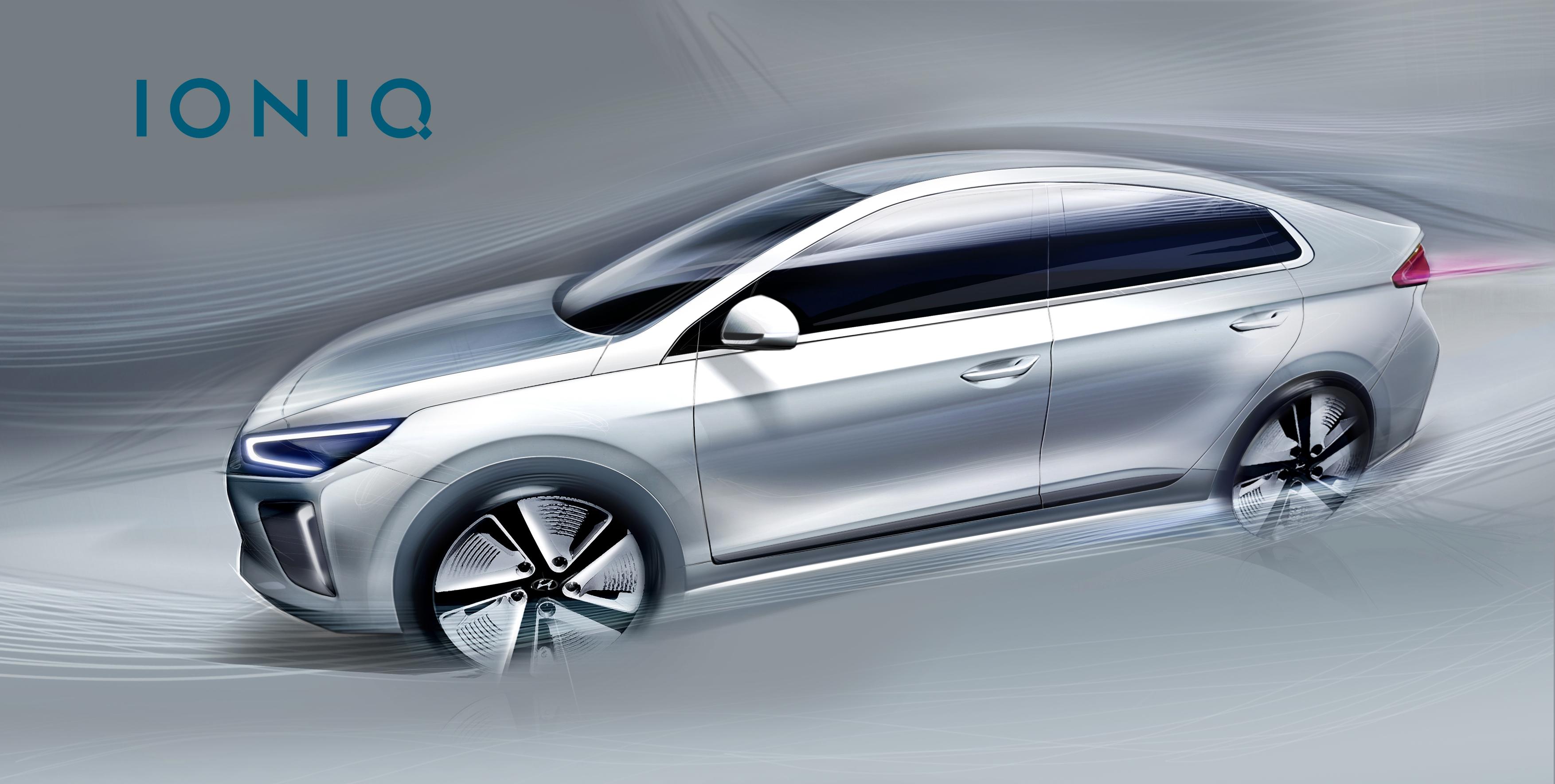 Hyundai IONIQ: il primo teaser