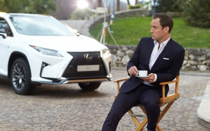 "Jude Law e Lexus per ""The Life RX"""