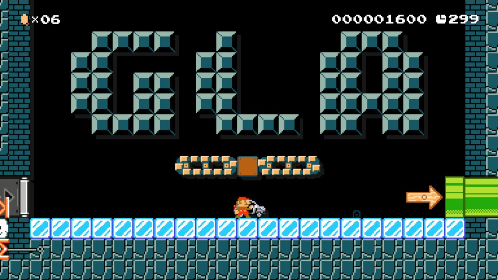 GLA guest star di Super Mario Maker