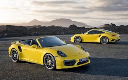 Porsche 911 Turbo e Turbo S: debutto a gennaio