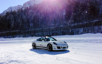 Porsche Ice Camp Italia, si parte a gennaio