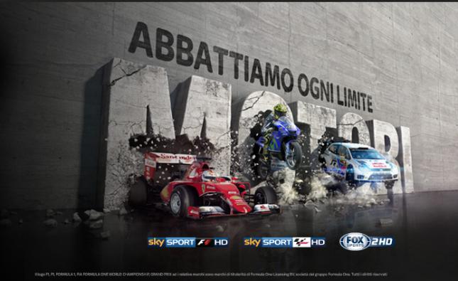 Speciali Sky : MotoGP e F1 sotto l'albero
