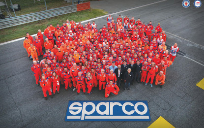 Sparco partner dell'Autodromo di Monza