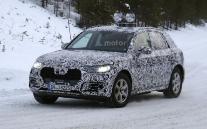 Spy: Audi Q5