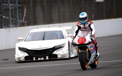 Honda Racing's Thanks Day event