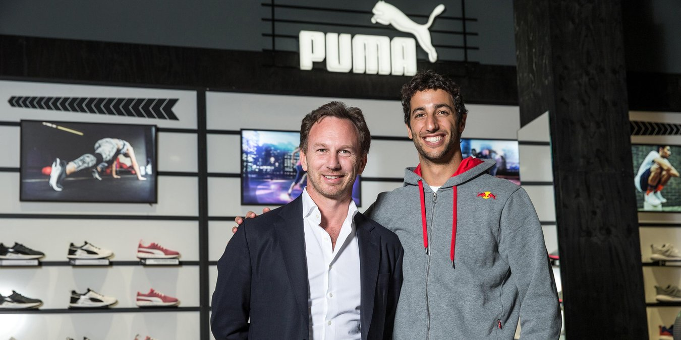 Red Bull Racing: partnership con Puma