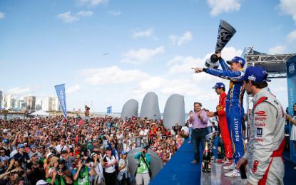 Formula E: Buemi battles from fifth to win