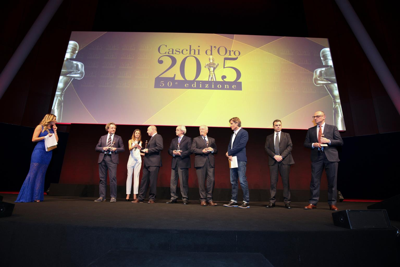 SEAT Italia premiata ai Caschi d'Oro 2015