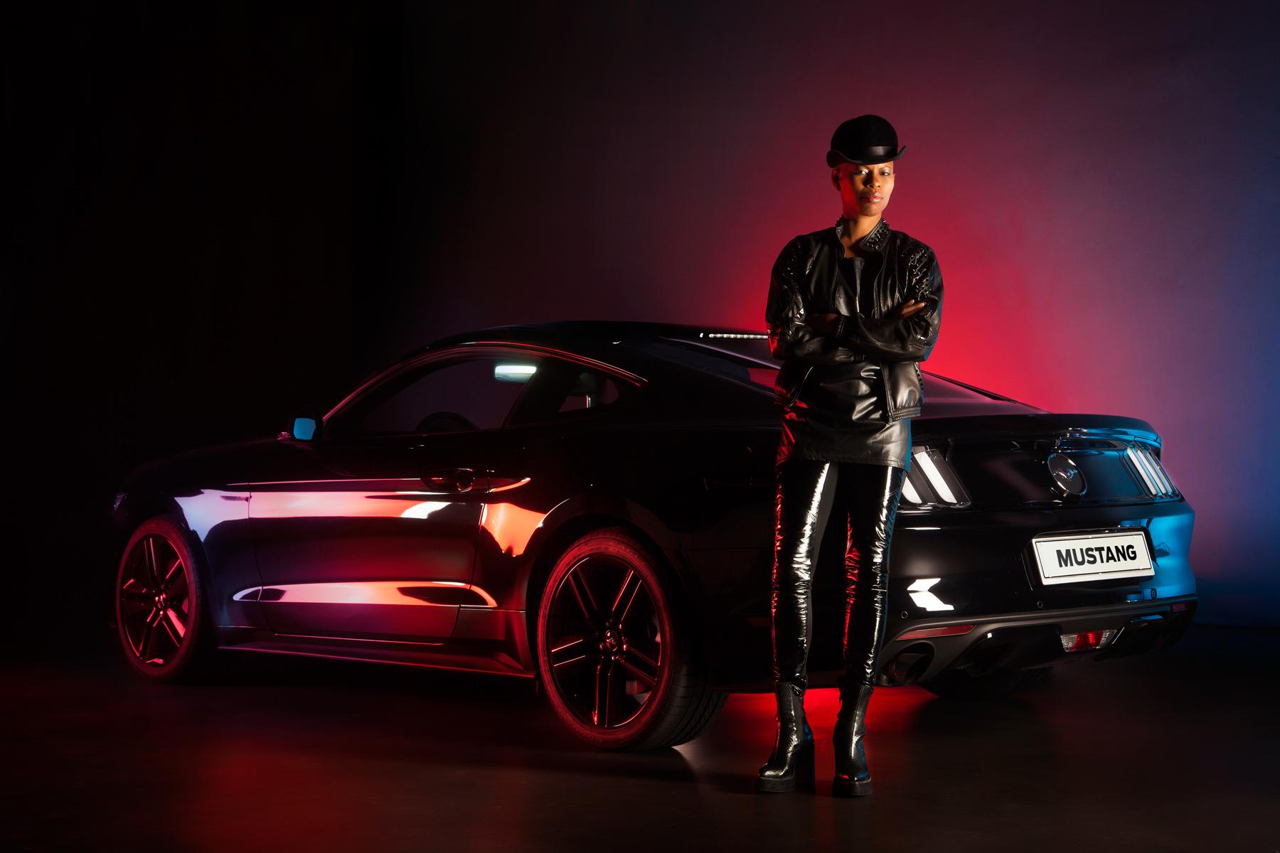 Skin e Ford Mustang unite nel nome del rock