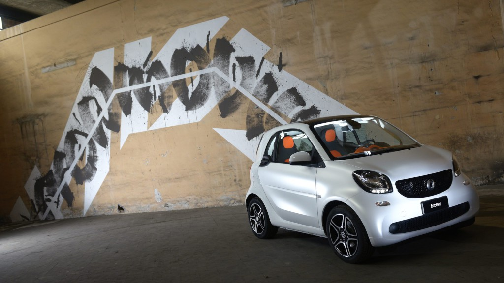 smart: Swatch Mercedes Art