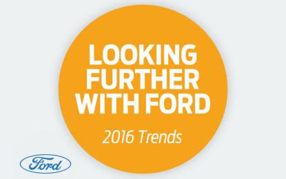 Ford: una ricerca sui trend 2016