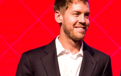 Vettel: dopo tanti hotel, finalmente a casa!