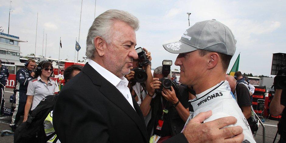 Schumacher: neppure Weber può vederlo