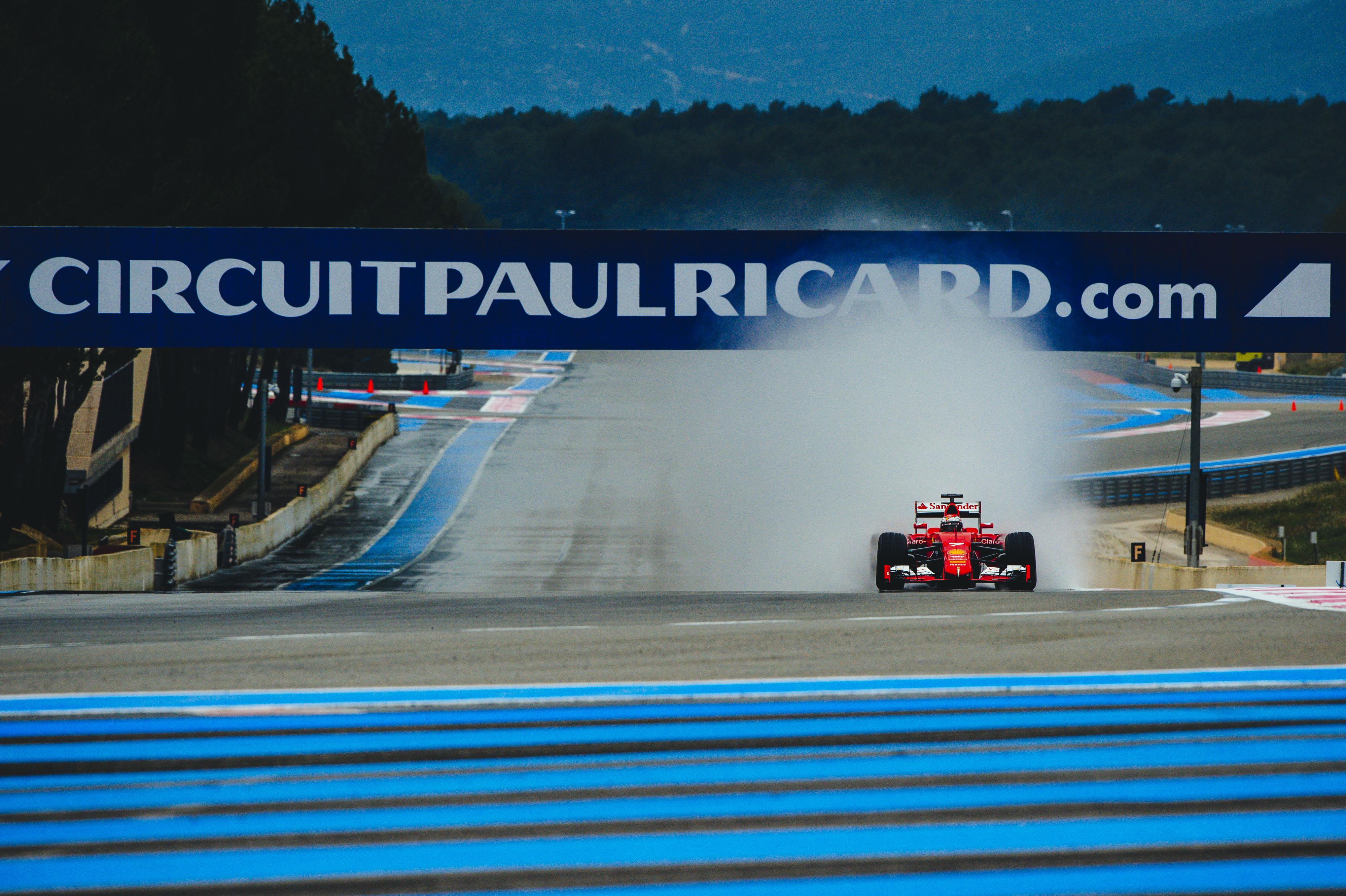 Raikkonen dà il via ai test sul bagnato al Paul Ricard