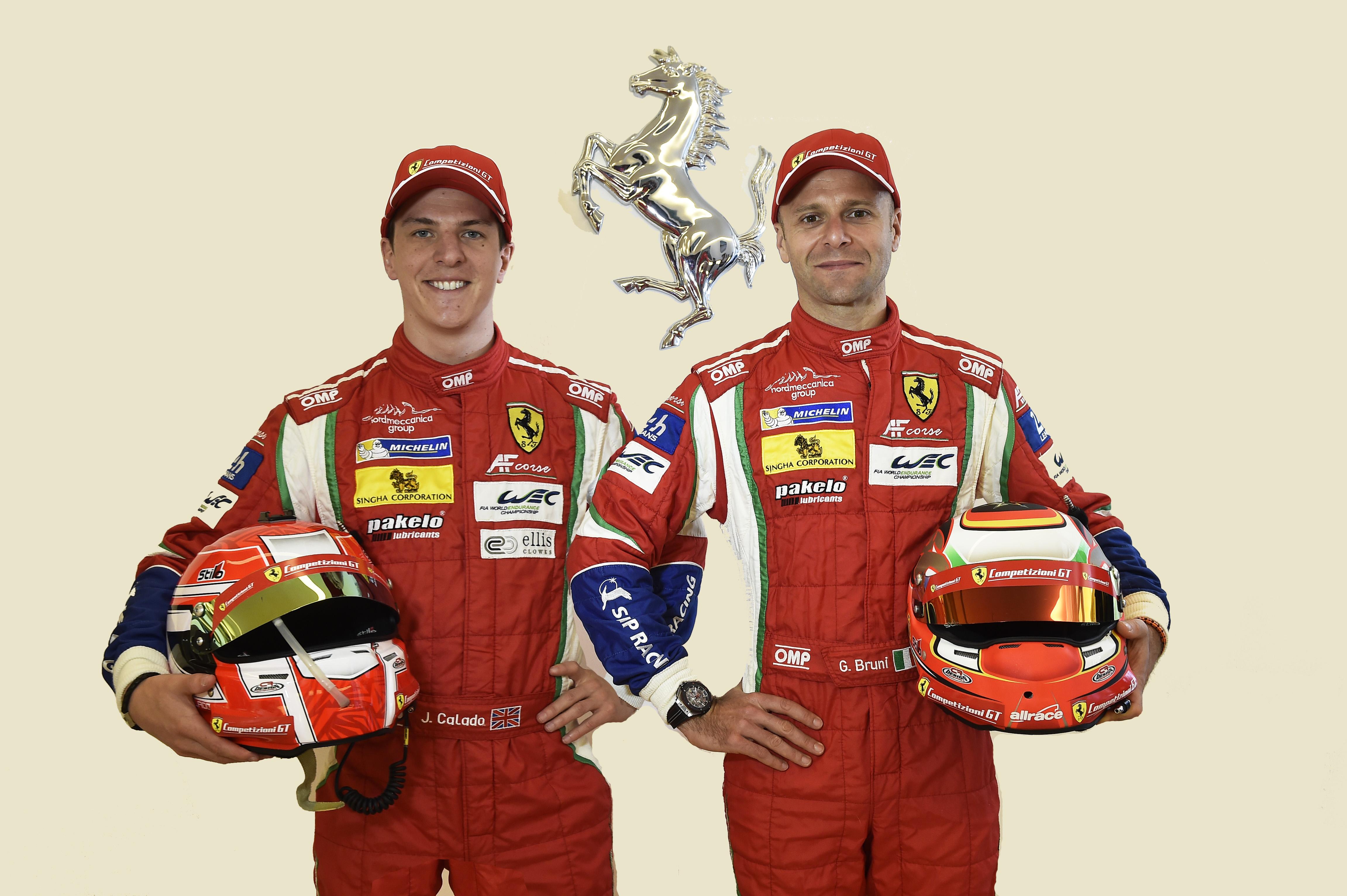 WEC e IMSA: gli equipaggi Ferrari 2016