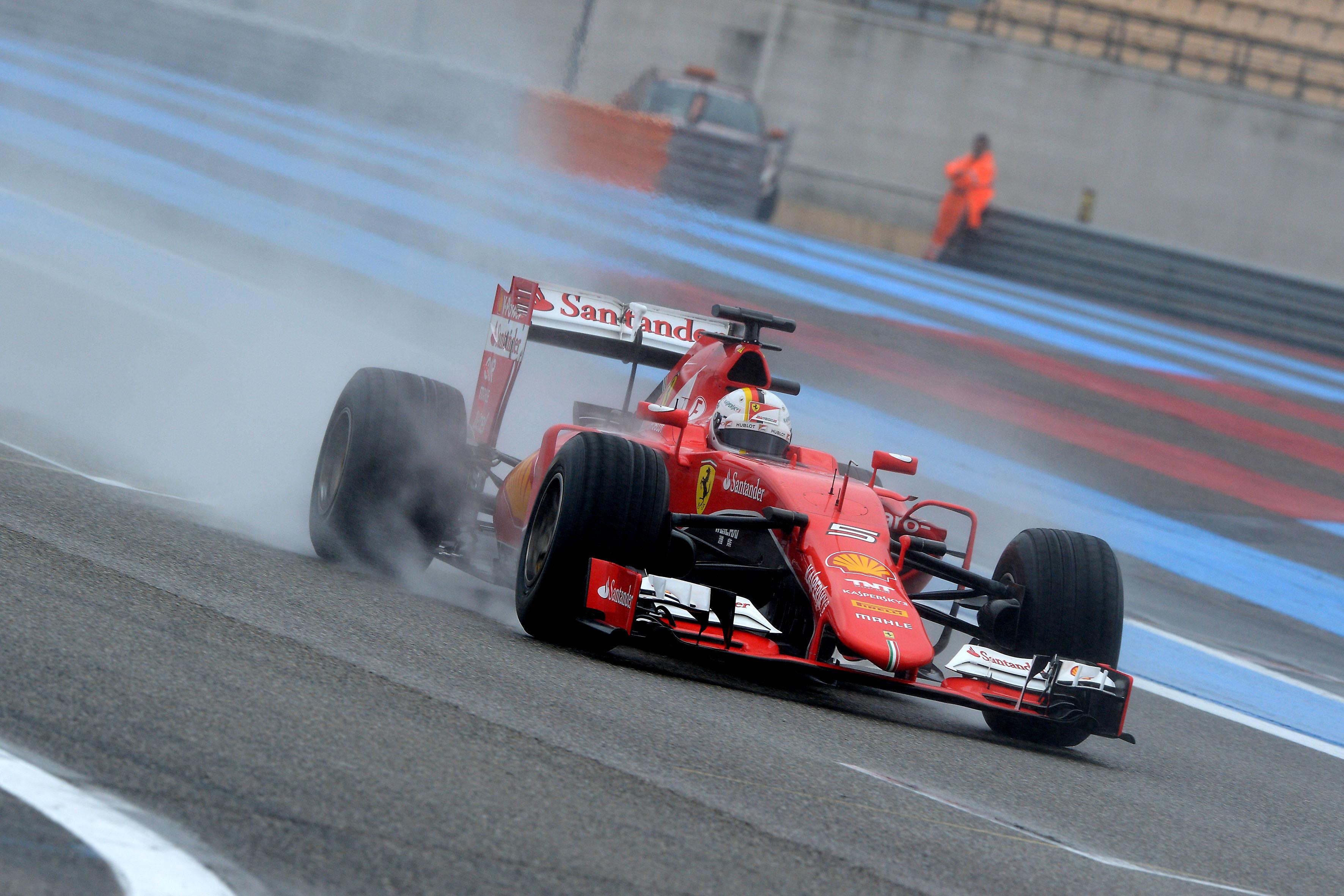 Maratona di Vettel al Paul Ricard