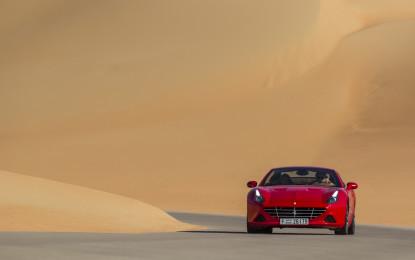 La Ferrari nel Deserto Rosso