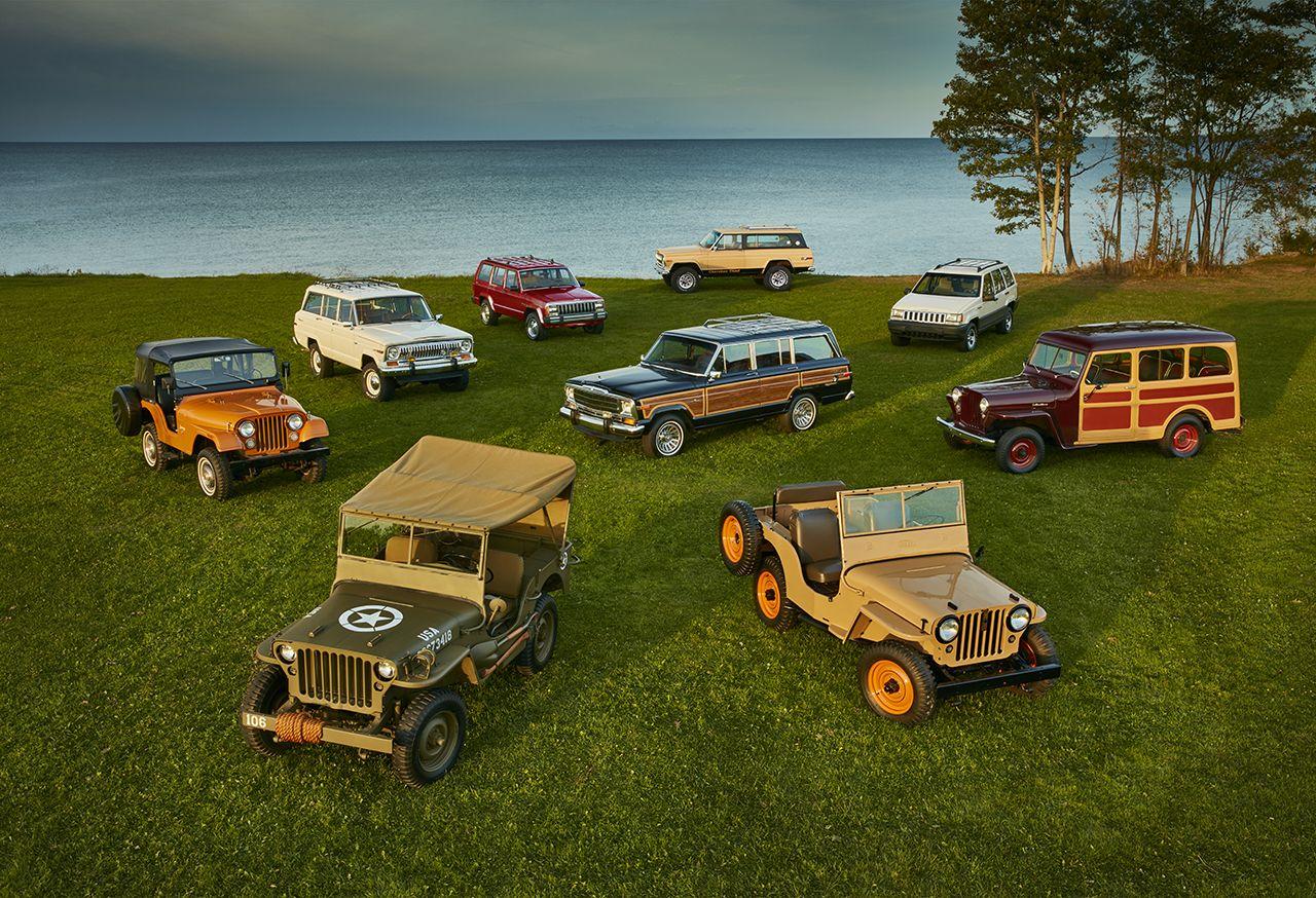 Jeep: serie speciali per i 75 anni