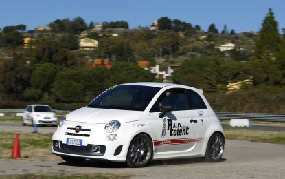 Rally Italia Talent: grande successo Abarth