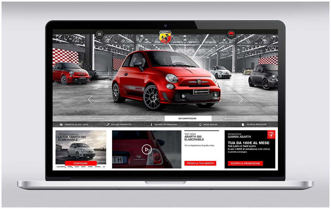 Abarth: nuova brand experience online