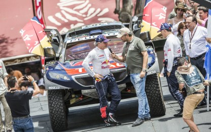 Dakar: Sainz e la 2008 DKR secondi nel prologo
