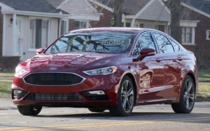 Spy: Ford Fusion 2017