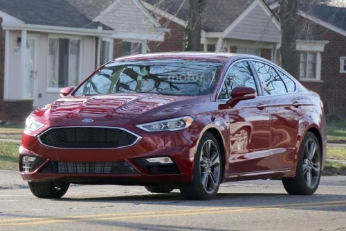 Spy: Ford Fusion 2017