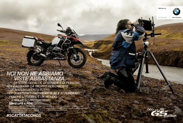 Un open weekend per BMW GS