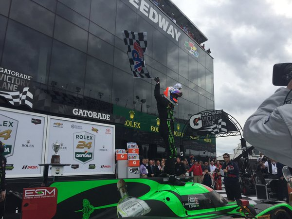 Daytona: Extreme Speed Ligier claims first LMP2 win