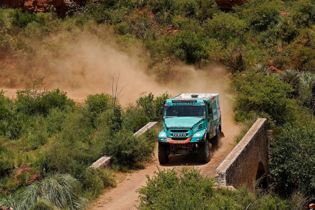 Dakar: Iveco sul podio nella seconda tappa